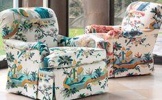 Le Jardin Chinois - Brunschwig & Fils - Fabrics