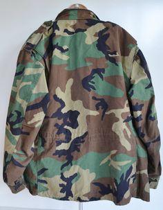 ON SALE Vintage Camo Jacket Military Camo by founditinatlanta