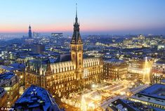 pictures of german cities | Hello Hamburg: Christmas markets, cuisine and cocktails in Germany's ...