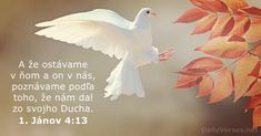 1. Jánov 4:13 - DailyVerses.net Mindfulness In Schools, Mindfulness For Kids, John 4 13, Treasures In Heaven, Spirit Of Truth, Verse Of The Day, Yoga For Kids, Dear Lord, Supernatural
