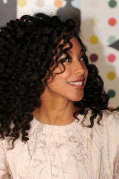 Twist out? Gorgeous #curlyhairrocks #naturalhair #curlyhair #blackhair #bhi