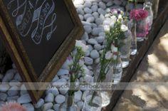 Wedding Welcome Corner. Chalkboard Rincón de bienvenida a la boda #bodascdb