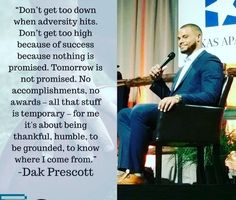 What a class act.  So blessed to have Dak as our quarterback!