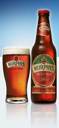 MURPHY'S Irish Red De un tono rojo ambar, con olor a malta y notas de caramelo. El sabor es muy agradable en general, suave y fácil de beber. Alcohol 5%