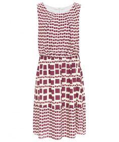 Raspberry Marylebone Tile Print Dress £79 http://www.nougatlondon.co.uk/raspberry-marylebone-tile-print-dress.html