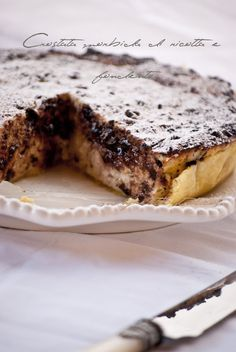 Mon petit bistrot: Crostata morbida di ricotta e fondente
