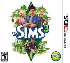 The Sims 3 Nintendo 3DS Teen Brand NEW video game