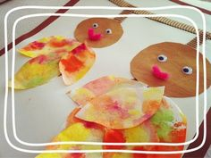 Preschool Crafts, Crafts For Kids, Fall Crafts, Diy Crafts, Elementary Art, Watermelon, Fruit, How To Make, Discovery