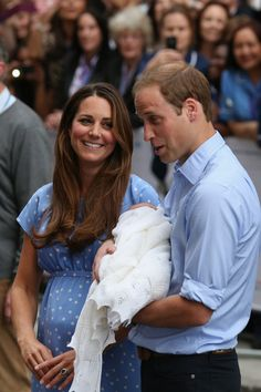 Kate Middleton - The Prince of Cambridge Makes His Debut
