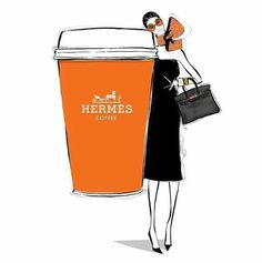Hermès. Megan Hess. Illustrations.