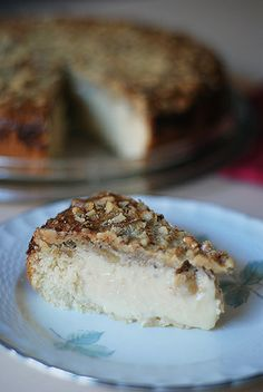 tarta de nueces con leche condensada