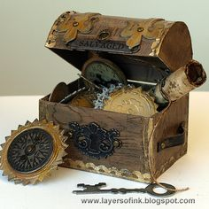 Layers of ink - Treasure Chest Tutorial