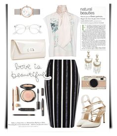 """Untitled #124"" by airarizti on Polyvore featuring River Island, Lanvin, Christian Louboutin, Kate Spade, BaubleBar, CLUSE and H&M"