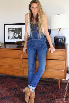 .loving the overalls, mine have almost become my weekend uniform    bureauofjewels/etsy and facebook xxx