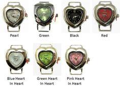 1/2 Inch Bar Petite Heart Watch Faces