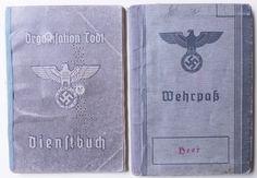 Hakaristi Saksa Todt ja Wehrmacht kirjat sama henkilö - Huuto.net