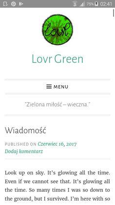 """Wiadomość"" in english >> ""Message"" hope you enjoy this short text :-)"