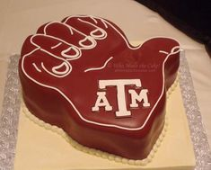 "Aggie ""Groom"" Cake! Cake: Who Made the Cake #wedding #groomscake #groom #cake #aggie"