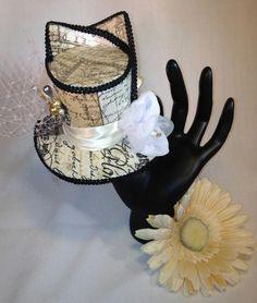 Elegantly Paris Mini Top Hat