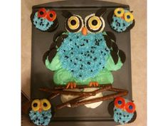 Camp Invention celebrates imagination and creativity even on birthdays! Check out this fun cupcake inspired by one of our favorite animals, the owl!