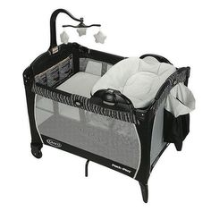 Graco Pack 'n Play With #babysleepproblems Baby Pack And Play, Best Pack N Play, Pack N Play Mattress, Baby Changer, Portable Bed, Baby Bassinet, Baby Playpen, Saints, Recipes