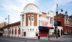 The Ritzy, Brixton, London (changes have been made to this cinema since, it's now a cinema/restaurant/bar with a delish menu) - a