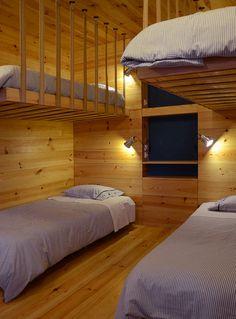 #4-quartos #dormitory #wood