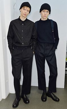 Margaret Howell Men's Autumn Winter 2016 Backstage