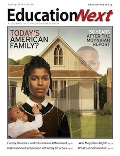 education article series on Today's American Family from http://educationnext.org website