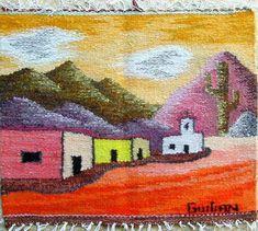 Rafael Sergio Guitian + tejendero : Tapiz de lana norteño <BR>…