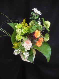 Garden bridesmaid bouquet