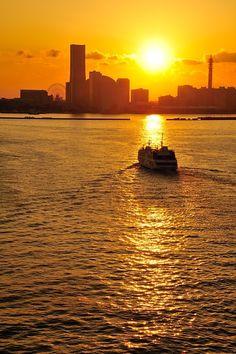 Yokohama Port, Japan