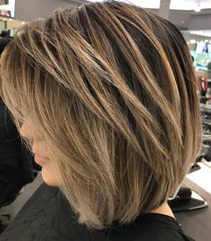 High Ponytail Hairstyles, Inverted Bob Hairstyles, Bob Hairstyles For Fine Hair, Medium Bob Hairstyles, Vintage Hairstyles, Modern Bob Hairstyles, 80s Hairstyles, Layered Haircuts, Grunge Hairstyles