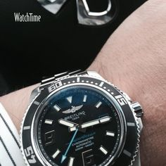 A #WATCHTIME fan just checked in with his #Infiniti and this #Breitling Super Ocean. #breitlingsuperocian #superocean @infinitiusa @breitlingnews...