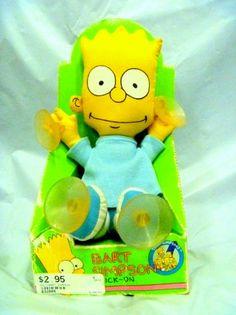 Bart Simpson Window Stick On!