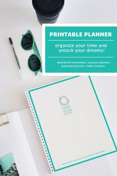 Organize your most important asset - your time - and you can realize your dreams! The Neat Little Planner combines all the things you love about a bullet journal into a printable planner.