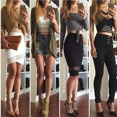 0 Skirt Outfits, Sexy Outfits, Winter Outfits, Casual Outfits, Cute Outfits, Summer Outfits, Fashion Fashion, Fashion Outfits, Womens Fashion