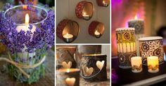 Inspirace na svíčky a svícny, které si můžete sami vyrobit | Čarujeme
