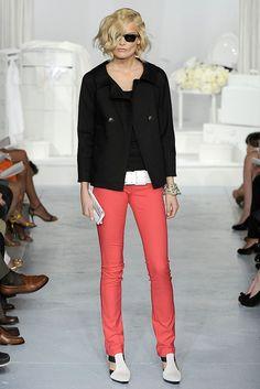Charles Nolan Spring 2009 Ready-to-Wear Fashion Show - Tine Furre