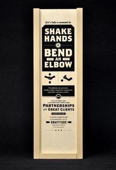 Shake Hands & Bend an Elbow