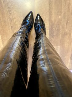 Knee High Heels, Hot High Heels, Thigh High Boots, High Heel Boots, Over The Knee Boots, Heeled Boots, Leather Leggings, Leather Boots, Ladies Boots