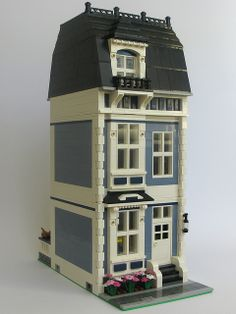 modular townhouse, with interior
