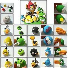 МК злые птички Ангри Берс (Angry Birds) ❤️