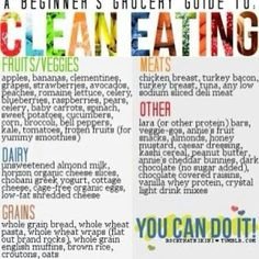 Clean eating ideas and snacks!