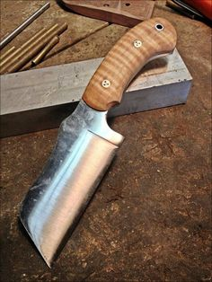 Handmade knife from Confederate Forge
