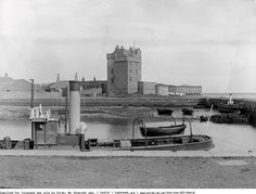 Broughty Castle, Broughty Ferry, 1884. My great grandfather's station in the 1860's  John Brodie Royal Regiment of Artillery... retired  Sergaent in 1871... had his children from first wife here untill she past aftering delivering twin girls who didn't survive ... 1868...