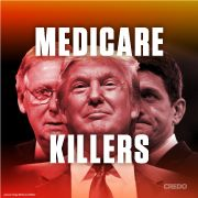 """Stop Republicans in Congress from gutting Medicare.Stop Republicans in Congress from gutting Medicare.  Petition to Mitch McConnell, Paul Ryan and Donald Trump: """"Do not cut, privatize, weaken or otherwise damage Medicare or Social Security. We should expand these successful programs – not cut them."""""""