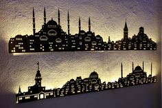 İstanbul wall-ligth