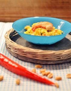 Ready steady go - die Grillsaison kann kommen: Ananas-Curry Spitzkohlsalat