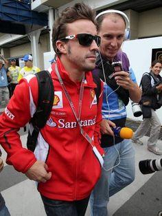 5  -  25-nov-12 - Premio BRASIL de Fórmula 1 no Autódromo de Interlagos (São Paulo): Fernando Alonso, com 260 pontos, é o segundo colocado do Mundial de Pilotos e disputa o título com o alemão Sebastian Vettel, que tem 273 pontos. Foto: EFE.